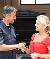 Mechanic and Customer, Vehicle Electricians in Luton, Bedfordshire